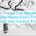 5 Ways To Prepare The Garden For Fall's First Frost