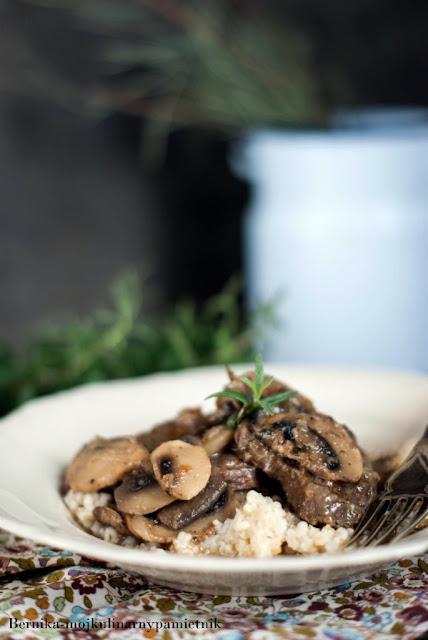 bitki, wolowina, bitki wolowe, kulinarny pamietnik, bernika, obiad, dieta, hashimoto, tarczyca