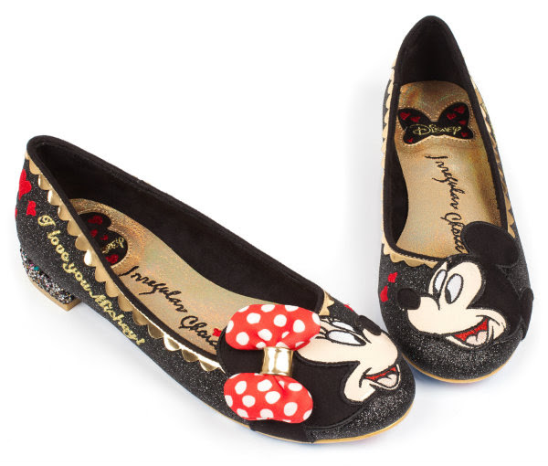 irregular choice disney mickey minnie why hello shoes
