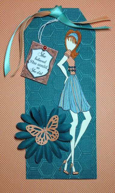 using Prima doll stamp