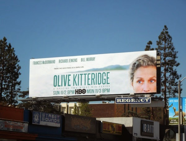 Olive Kitteridge HBO mini-series billboard