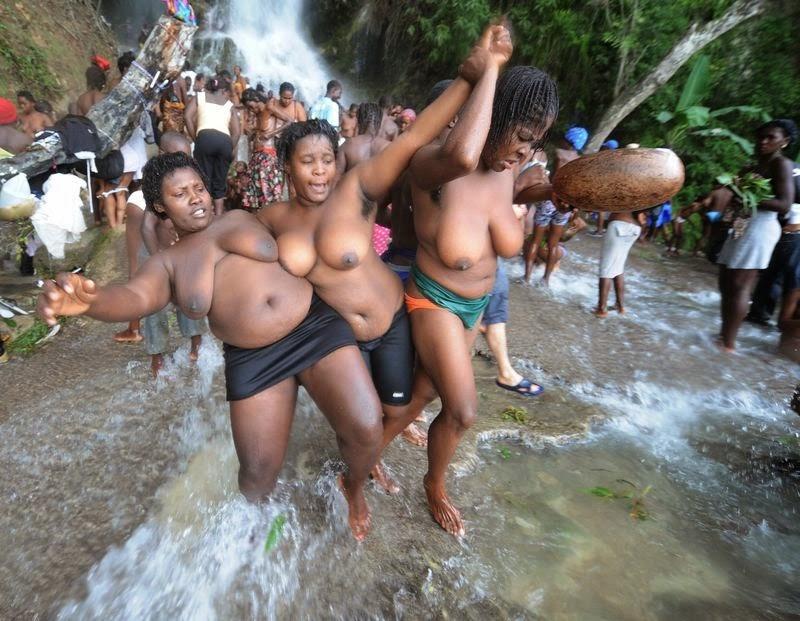 Live nude haitian girl