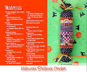 Eyecandy Needleart New Design Quot Halloween Birdhouse Quot