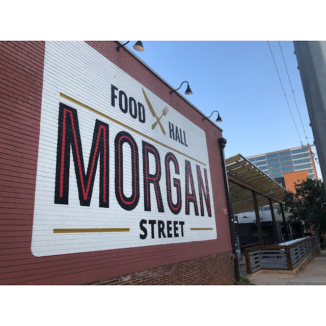 Morgan Street Food Hall has 19 restaurants in one building