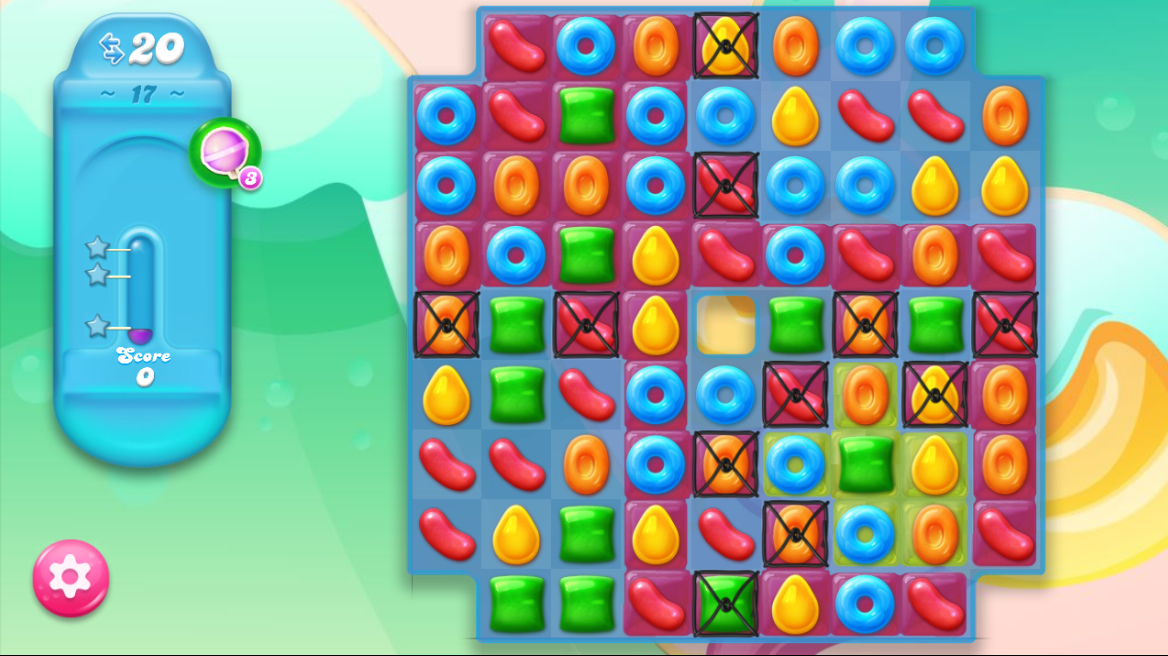Candy Crush Jelly Saga 17