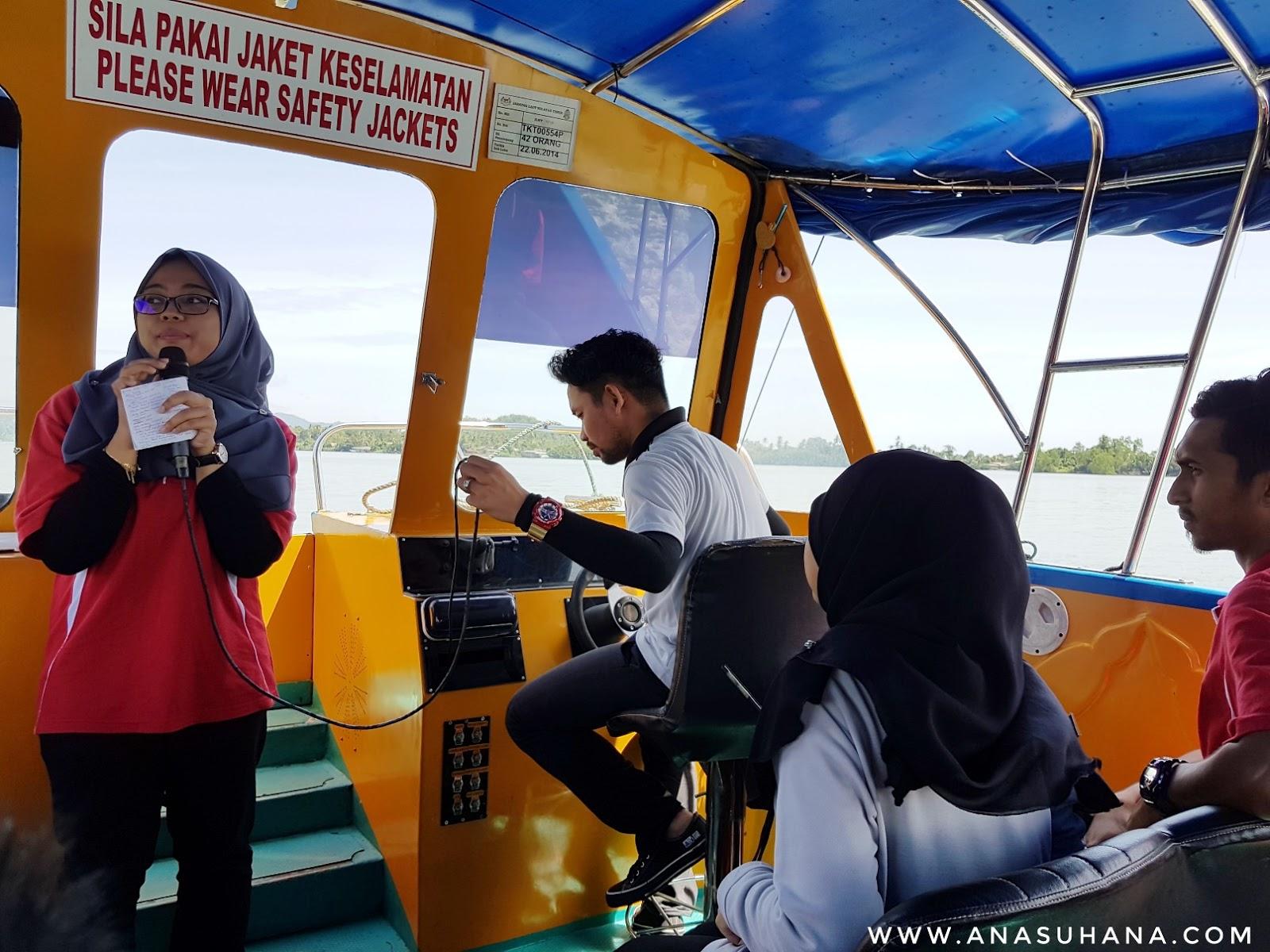 River Cruise di Taman Tamadun Islam, Kuala Terengganu.