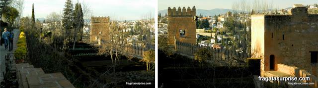 Passeio da Torres, Alhambra, Granada