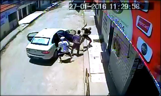 VÍDEO: Taxista é sequestrado espancado e baleado em Aracaju