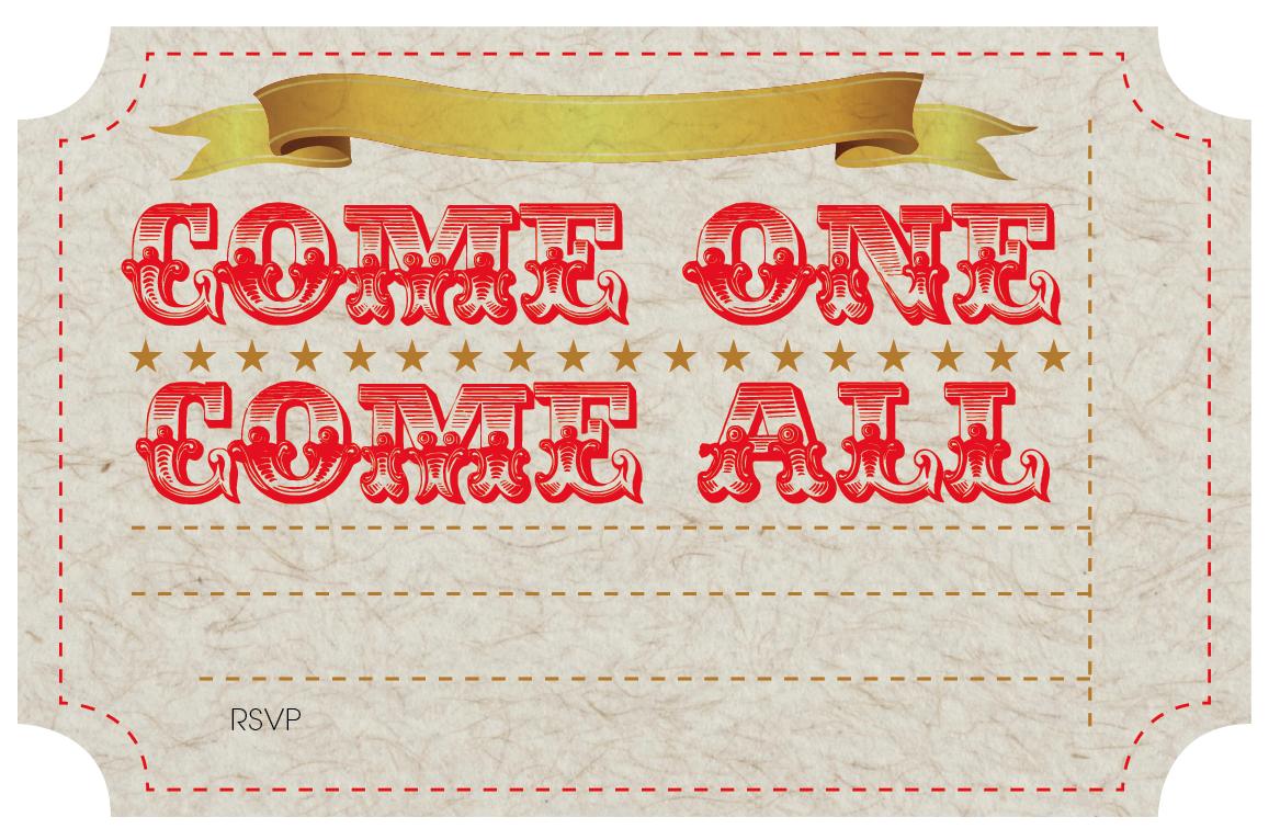 free printable circus party invites nooshloves. Black Bedroom Furniture Sets. Home Design Ideas