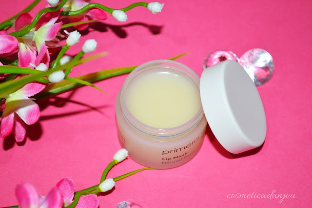 Primera Lip Mask Natural Berry Review reseña