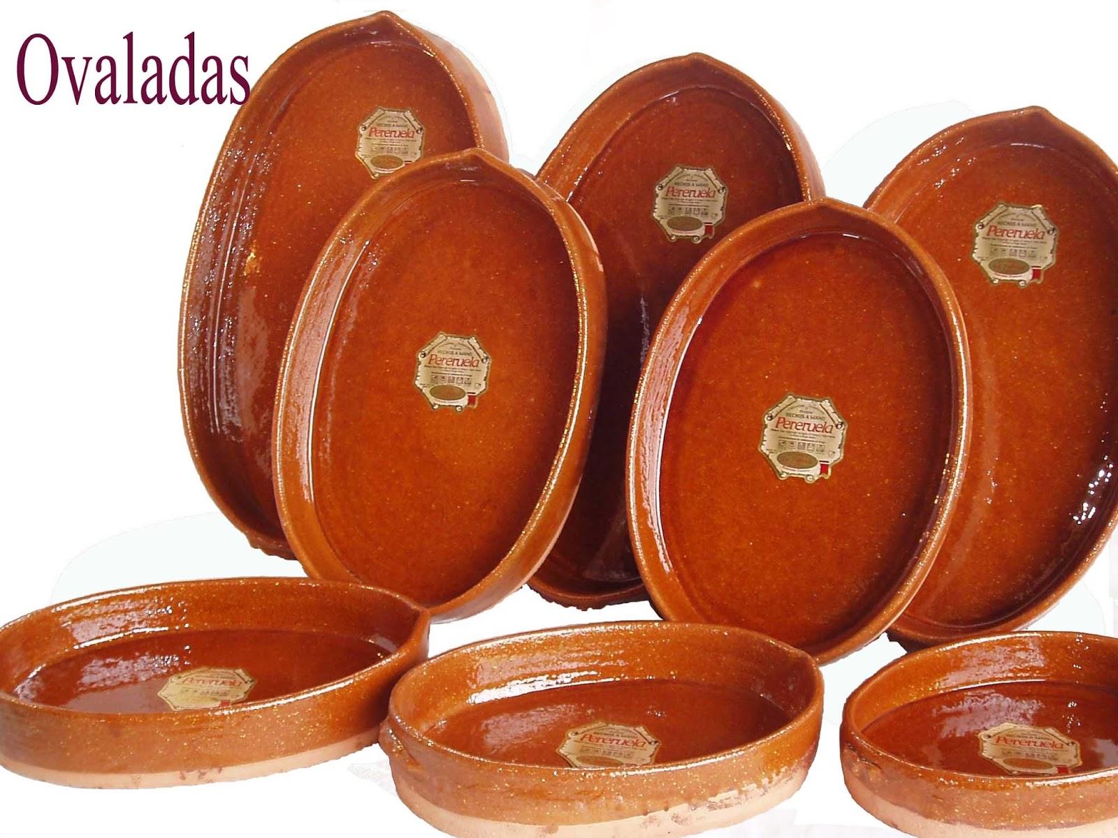 Hornos de le a pereruela cazuelas de barro for Faroles de barro para jardin
