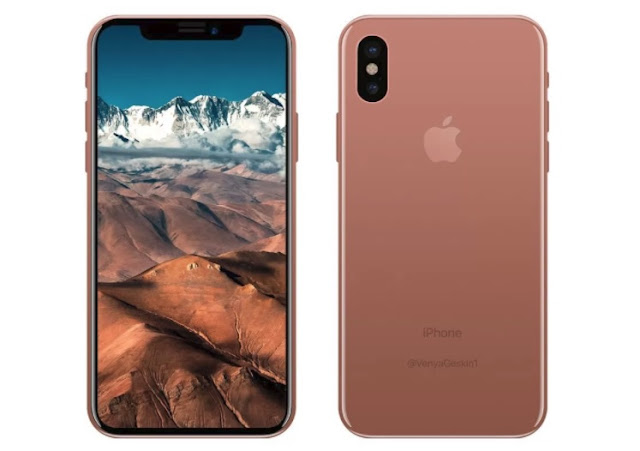 Blush Gold iPhone X March 2018