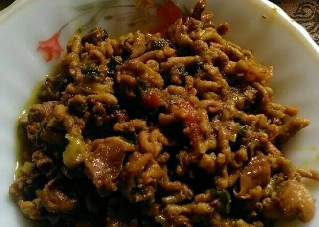 Resep dan cara membuat Pepes Usus Ayam, Hati dan Ampela