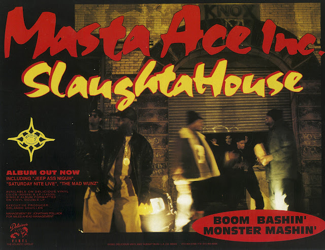 Masta Ace Incorporated Slaughtahouse Advert