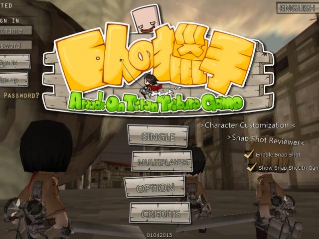 Attack on Titan Tribute Game - Download