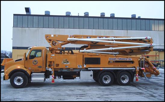 Kenworth T880S Concrete Pumper Truck