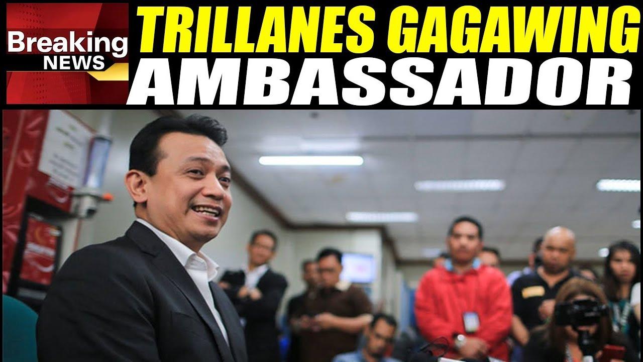 Trillanes Gagawin Ng Ambassador?