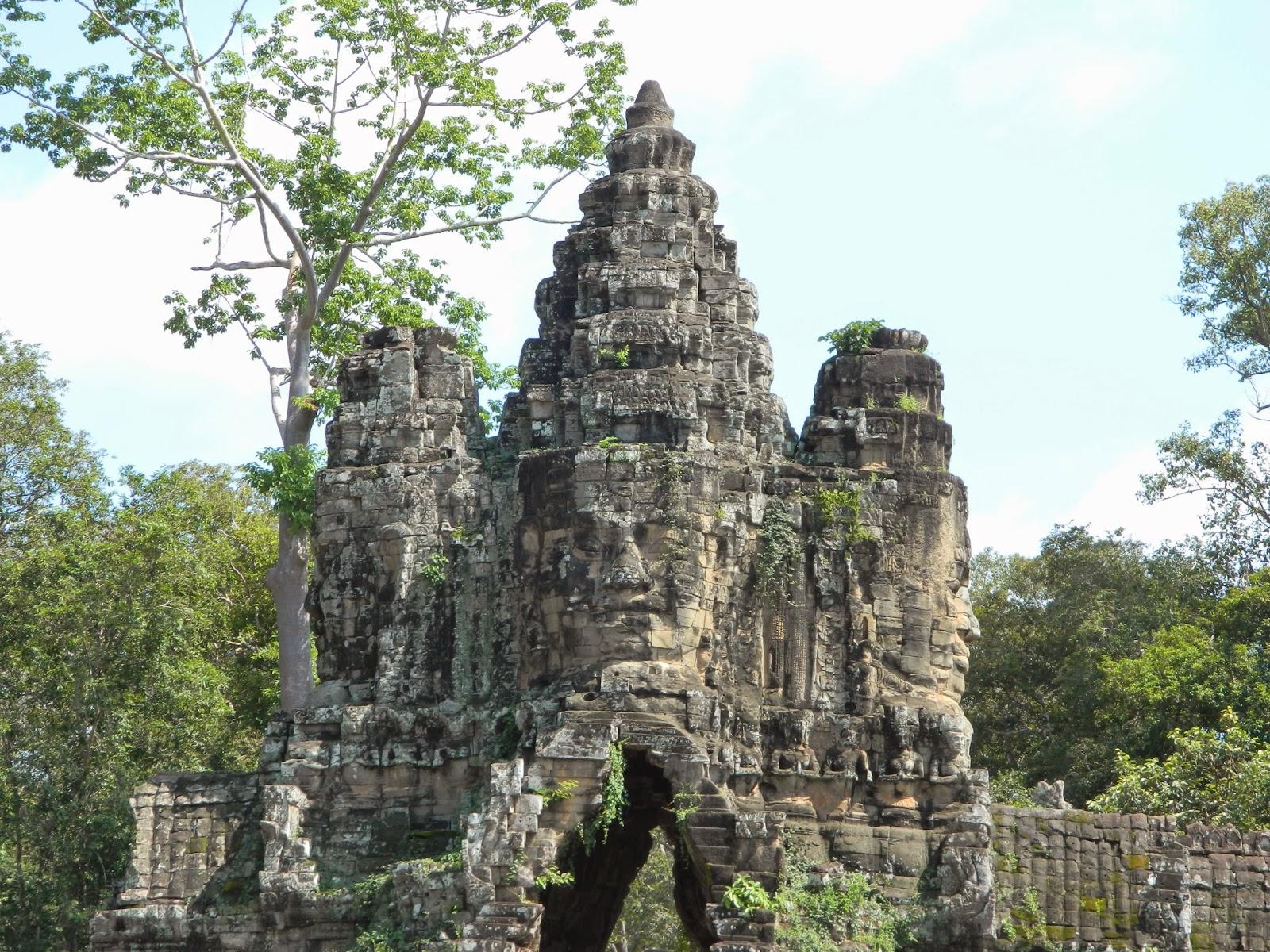 Entrance to the Bayon Temple