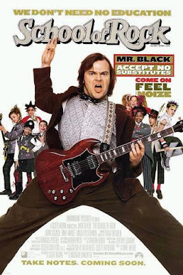 The School of Rock Poster