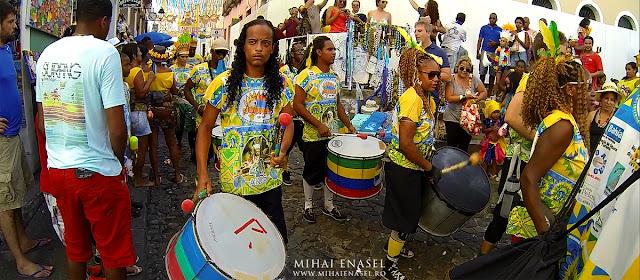 Commanches, Carnaval Salvador de Bahia, Brazilia