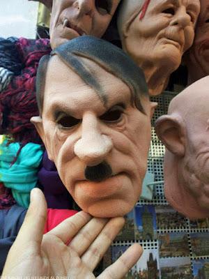 Hitlermaske skurile Masken für Verkleidung