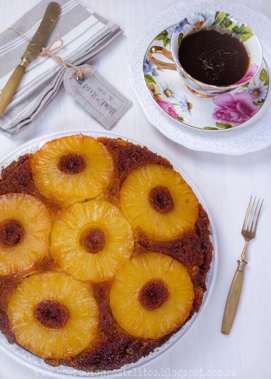 bizcocho-invertido-fruta-caramelo