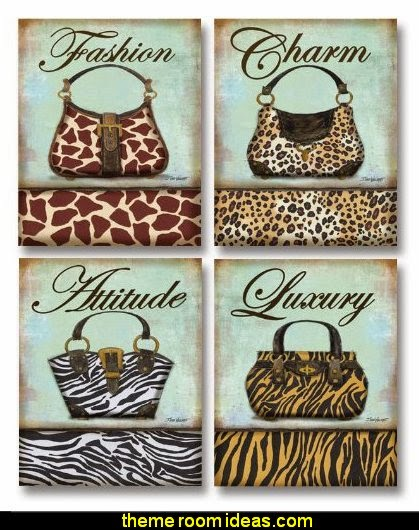 Exotic Purse - mini Fashion, Mini Prints Art Print Poster by Todd Williams, 8 x 10 set of 4