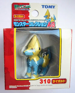 Manectric Pokemon figure Tomy Monster Collection AG series