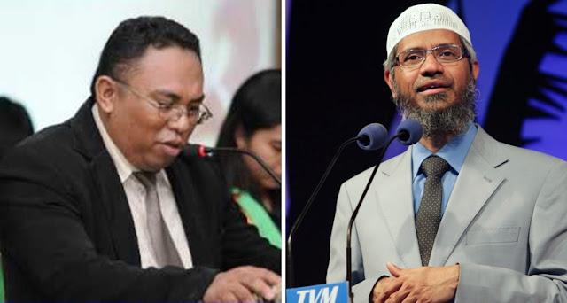 Pendeta Esra Alfred Soru Tantang Dr Zakir Naik Debat Terbuka