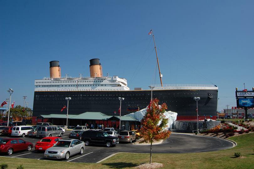 The Titanic Museum in Branson, Missouri   Never Ever Seen ...