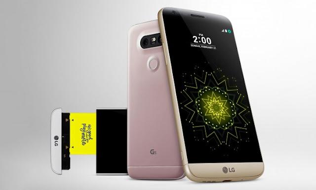 Update Android v7.0 Nougat untuk LG G5 sudah digulirkan via OTA