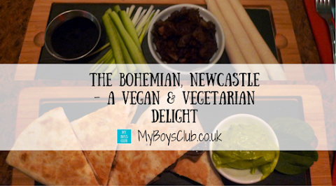 The Bohemian, Newcastle - A Vegan & Vegetarian Delight