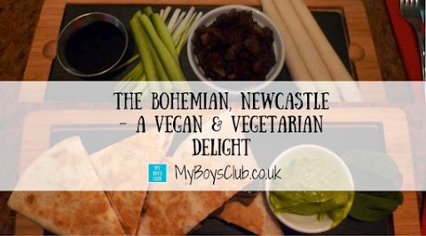 The Bohemian, Newcastle - A Vegan & Vegetarian Delight