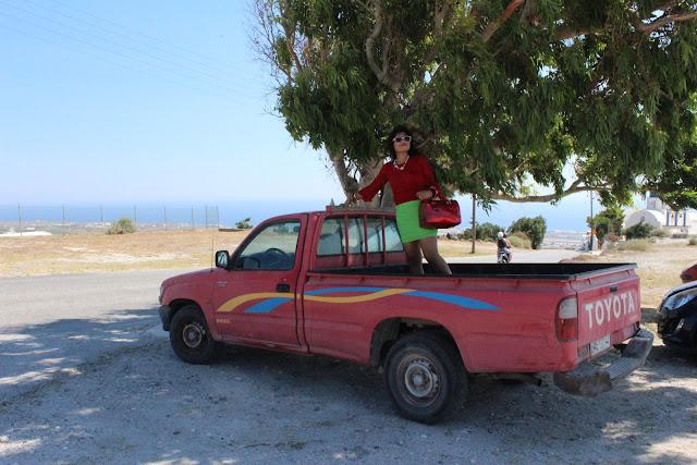kamari Beach, Aegean Sea