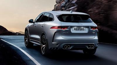 2020 Jaguar F-Pace SVR Review, Specs, Price