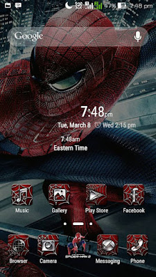 Theme The Amazing Spiderman For Asus Zenfone Series - Droid Tuanku