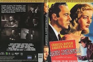 Agente confidencial - Carátula Dvd