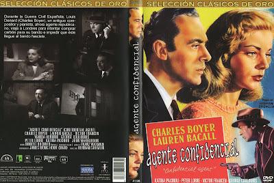 Carátula Dvd: Agente confidencial - Confidential Agent