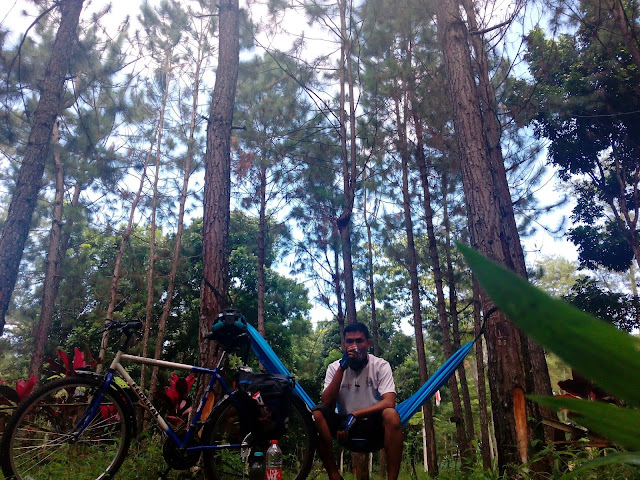 sepeda camping