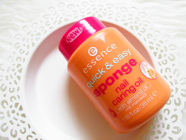 essence quick & easy sponge nail caring oil