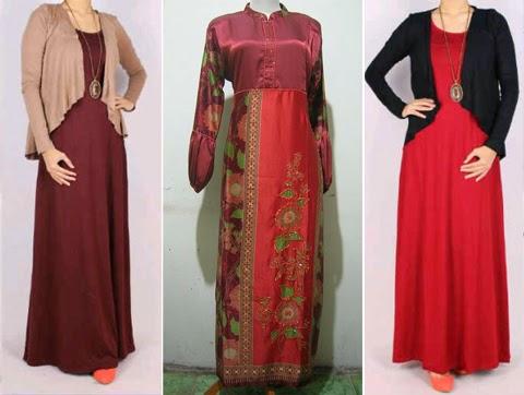 model baju muslim orang gemuk yang modis