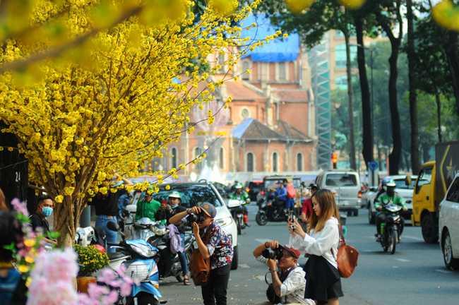 Thăm Sài Gòn đến phố ông đồ du ngoạn xin chữ dịp tết nguyên đán