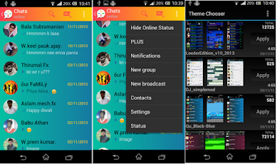 screenshot WhatsApp Plus v3.9.0 Mod Apk Terbaru