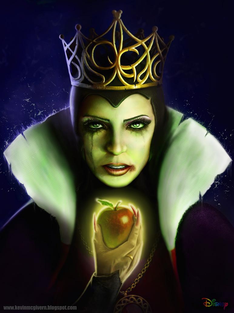 Kevin McGivern Blog: Snow White Evil Queen re-designed Disney Evil Queen Snow White