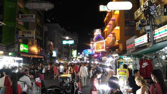 bangkok, tajlandia, backpacking, autostop, azja, hua hin, surat thani, koh phangan, tajlandia pociągi