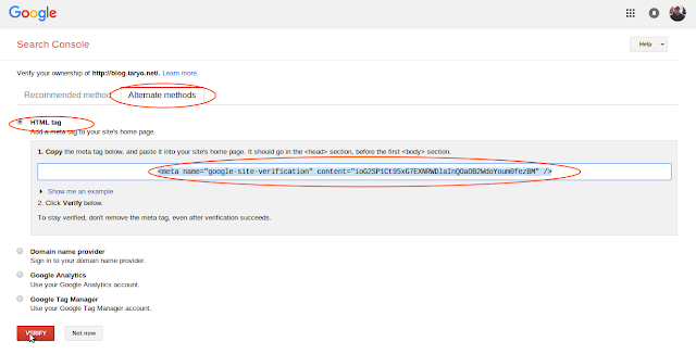 Cara Ampuh menaikan Trafik Blog dan Website ala Google Webmaster Tool