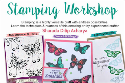 Stamping workshop at Itsy Bitsy
