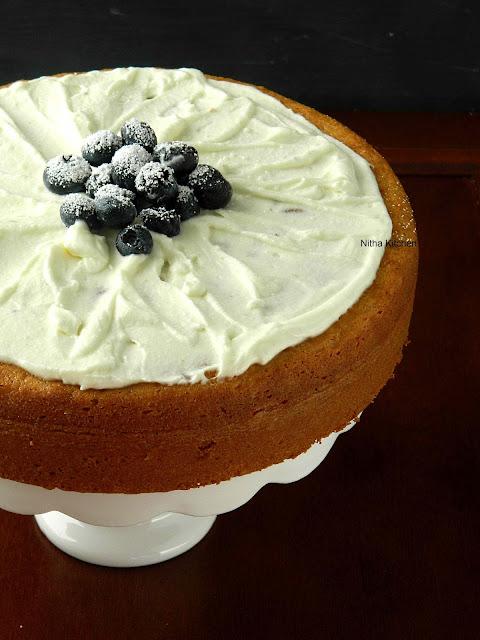 Nitha Kitchen Eggless Almond Sponge Cake Recipe From Scratch