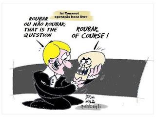 Lei Rounaet, Operação Boca Livre: Roubar ou não roubar, eis a questão!
