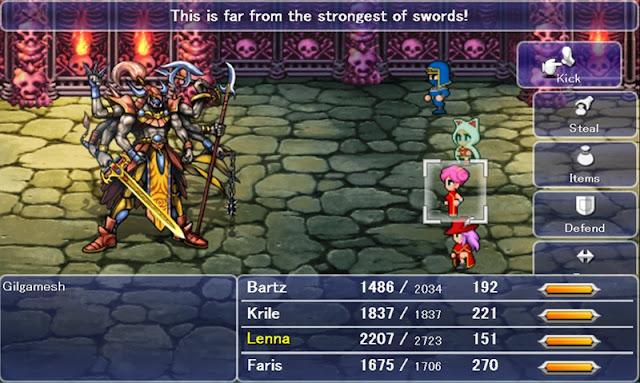 Final Fantasy V PC Download Photo